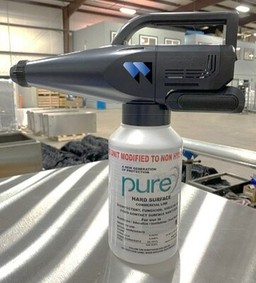 Whiting Systems, Inc. Offers NEW ViroBlaster Disinfectant Mister